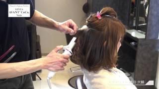 簡単に出来る!ヘアビューロンを使ってカジュアルでかわいいヘアスタイルの作り方