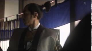 「真田丸」にて、鋭い目つきとイケボで御館様を御守りする直江兼続(演...