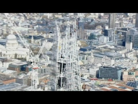 Amazing timelapse video of the Shard's creation