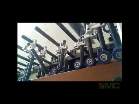Линия окутывания погонажных изделий MC350B-PUR. Компания МС-Груп. Топ Новинки.
