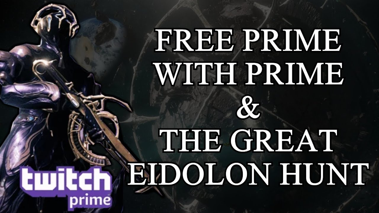 Warframe - Loads Of Free Stuff With Twitch Prime