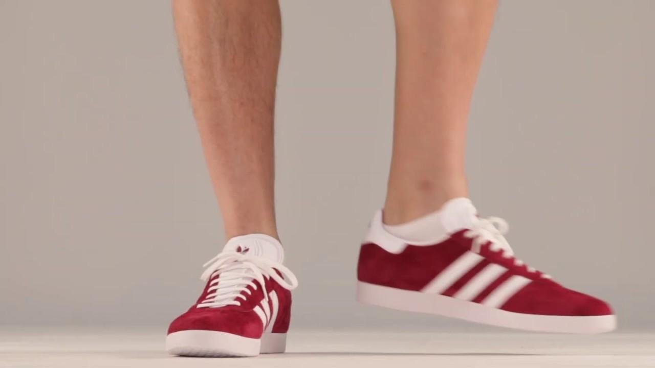 adidas Originals GAZELLE B41645 Μπορντό