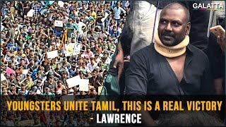 Youngsters unite Tamil, this is a real victory -  Lawrence