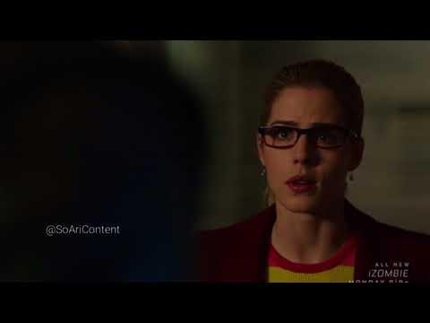 Arrow 6×18 Felicity saves Oliver