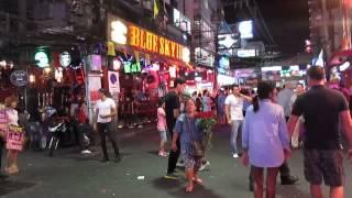Walking street.Pattaya.