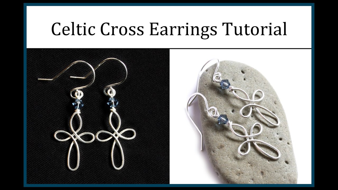 How to make celtic cross earrings easy wire wrapped jewelry how to make celtic cross earrings easy wire wrapped jewelry tutorial youtube solutioingenieria Image collections