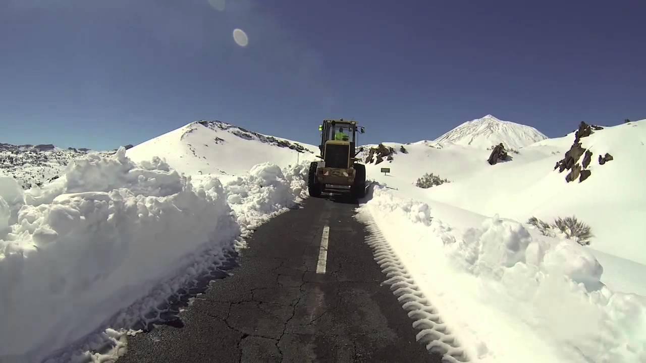 Nuevo Operativo 'Nevadas' este fin de semana en Tenerife