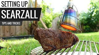 How to set up SEARZAL best torch for searing!
