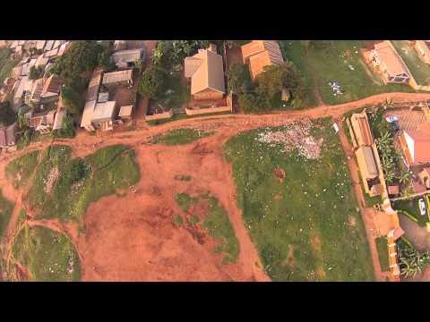 Drone flying in Uganda