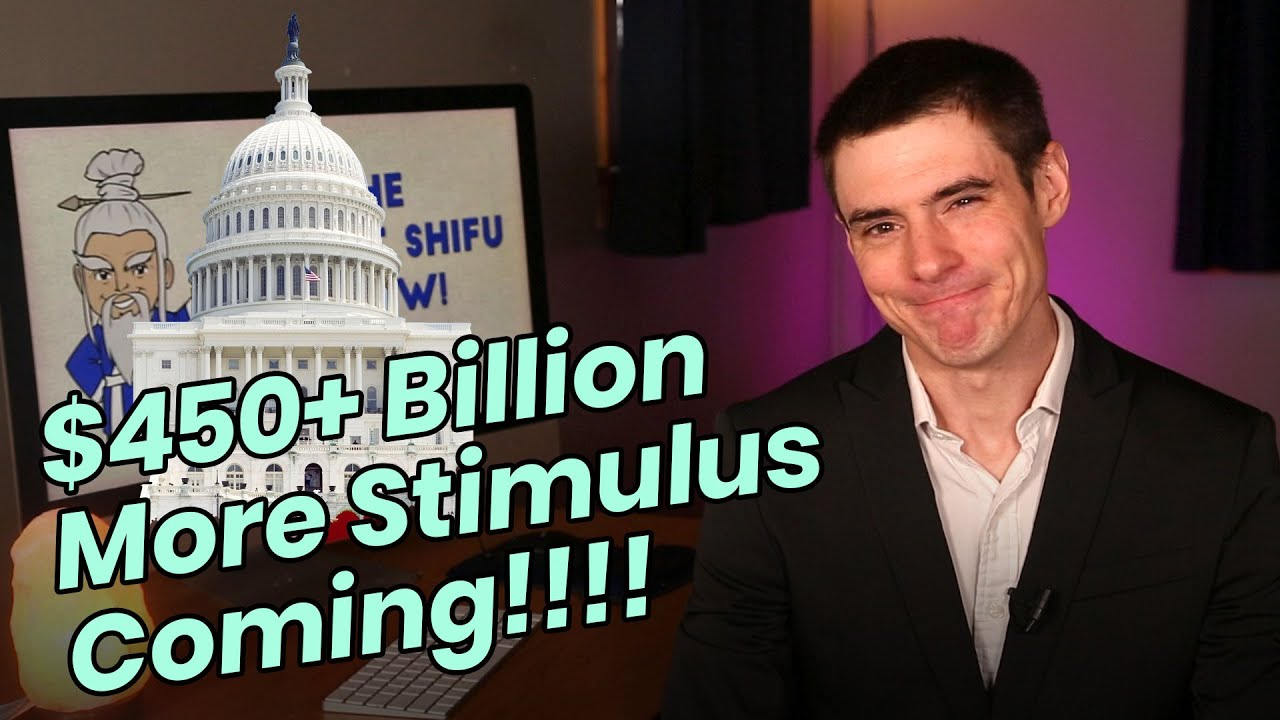 (99) NEW Stimulus Package Coming!! Vote Tomorrow... - YouTube