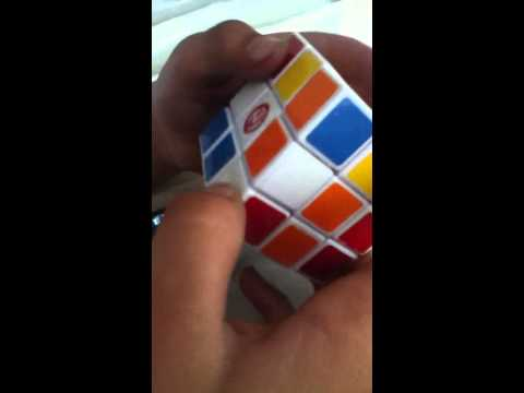 How to solve a Rubik's cube the cheat way