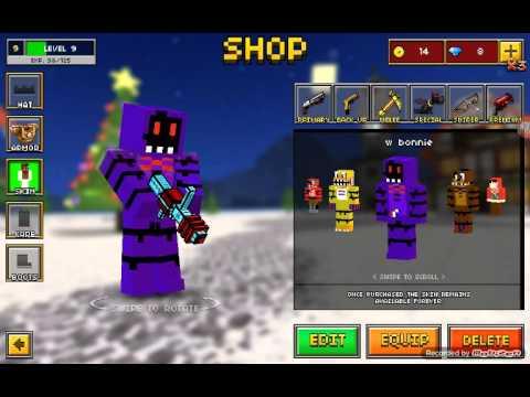All My Fnaf Skins Most Popular Videos - Skins para minecraft pe bonnie