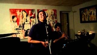 Daniel Hewson e  Ricardo Pinto, com Maria Viana - Cascais Jazz Club