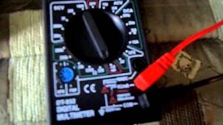 Обзор мультиметра DT-832