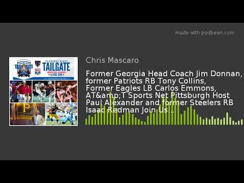 Former Georgia Head Coach Jim Donnan, former Patriots RB Tony Collins, Former Eagles LB Carlos Emmon