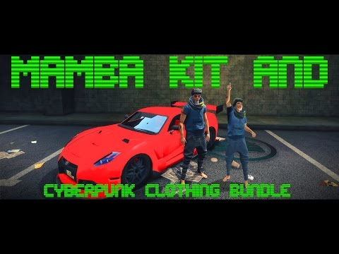 IO Growl MAMBA Kit and Cyberpunk Clothing Bundle