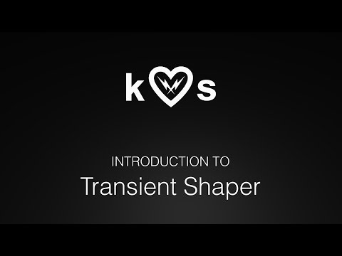 Introduction to Transient Shaper