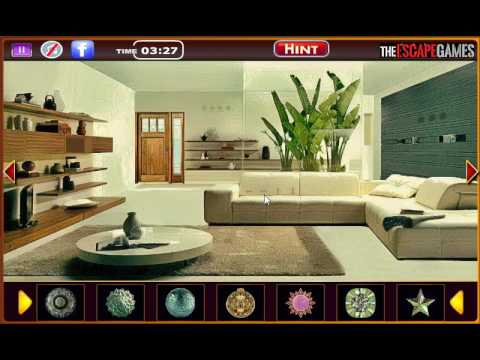 Modern Living Room Escape exciting modern room escape walkthrough - youtube
