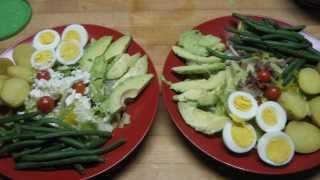 Friday Night Salad Nicoise