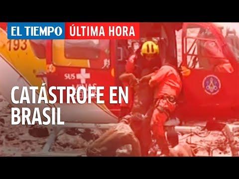 Ruptura de dique minero causa grave avalancha en Brasil l EL TIEMPO