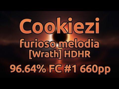 Cookiezi | gmtn. (witch's slave) - furioso melodia [Wrath] HDHR 96.64% FC #1 660pp