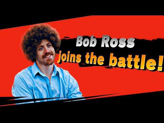 Super Mario VS Bob Ross