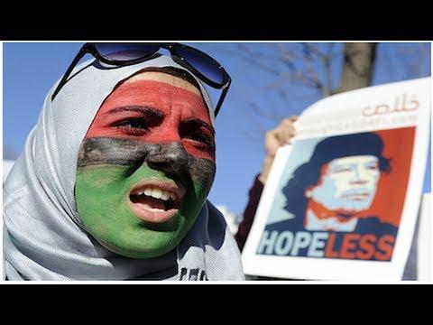 Gaddafi Turns US and British Guns On His People