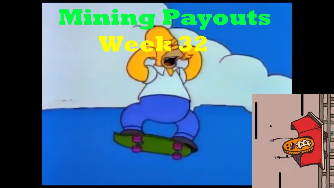 Week 32 Mining Payouts 07/15/19 - CoinGecko TV