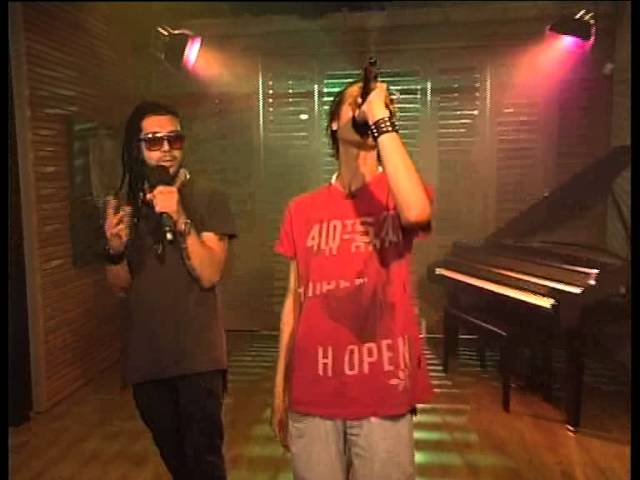 Syrian rap duo on SABC3 (South Africa)