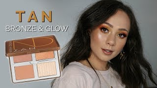Natasha Denona Tan Bronze & Glow Palette Review on Light Skin!
