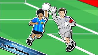 ✊🏽THE HAND OF GOD!✊🏽 (Argentina vs England World Cup 1986 Maradona Handball + Goal of the Century)