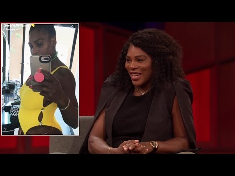 Serena Williams Admits Baby Reveal On Snapchat Was An Accident