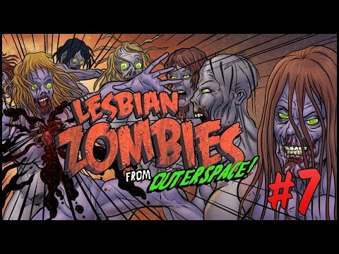 Lesbian Zombies from Outer Space, Chapter 7 [FINAL] -- Horror Comedy Motion Comic 18+