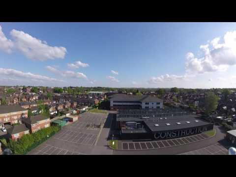UK Urban FPV Falcon 210 pro College and Industrial flying
