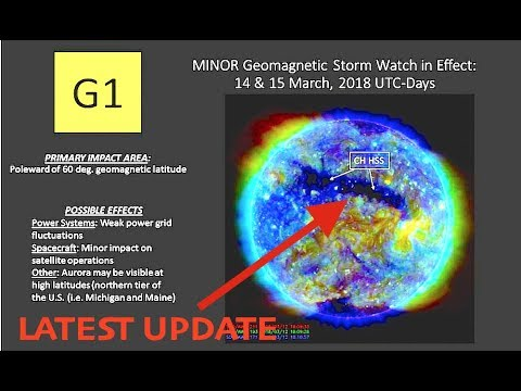 Massive Solar Storm Radiation to Hit Earth Today & Tomorrow, Testing Levels
