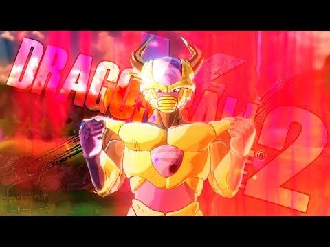 (4K) Golden Tryzick vs Golden Frieza! FighterZ Reshade Preview! | Dragon Ball Xenoverse 2 Mods