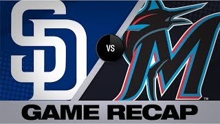 Anderson, Castro power Marlins' 12-7 win | Padres-Marlins Game Highlights 7/16/19