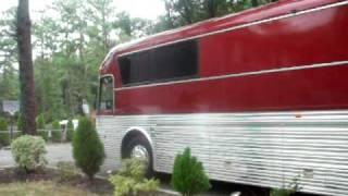Silver Eagle Bus