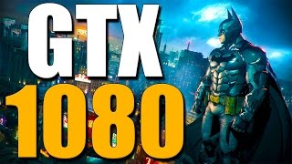 GTX 1080: Batman Arkham Knight Gameplay 1440p Ultra Settings