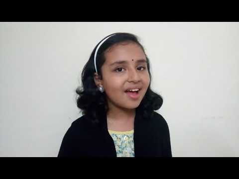 """Kavilathe kanneer kandu"" by Sreelaya Sathyan"