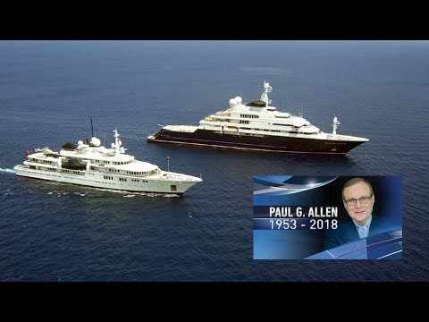 8 Facts About Paul Allen's Octopus Yacht  - RIP