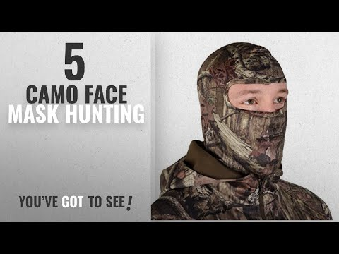 Top 10 Camo Face Mask Hunting [2018]: Mossy Oak Full Spandex Face Mask (Break-Up, One Size)