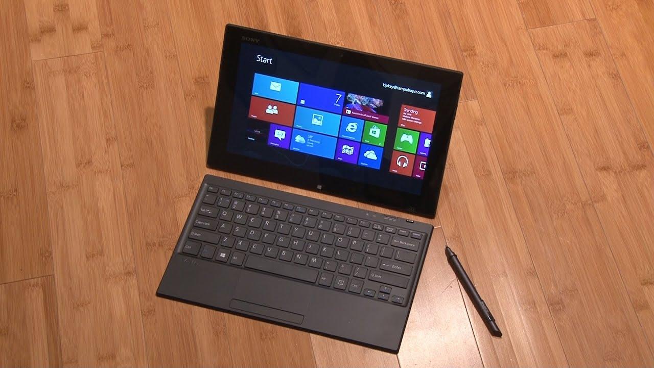 LAPTOP - HàngHiếm-Sony Vaio TAP 11 Tablet Touch 2014 Siêu Nhẹ780gam,ThếHệ4,Core Likenew 99%- Giá Tốt - 30