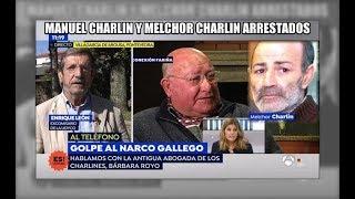 Detalles de la detención del histórico narco Manuel Charlín - Aduanas SVA