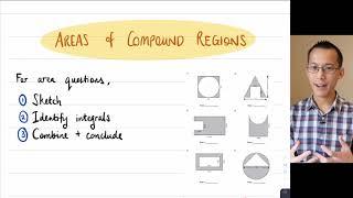 """Areas Between Curves (1 of 3: Establishing """"top"""" minus """"bottom"""")"""