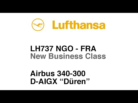 TRIP REPORT | Lufthansa | A340 | Business Class | Nagoya to Frankfurt | Full Flight
