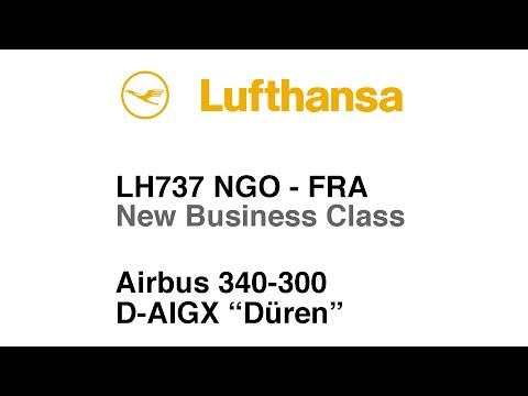 TRIP REPORT | Lufthansa | A340 | Business Class | Nagoya to Frankfurt | Full Flight