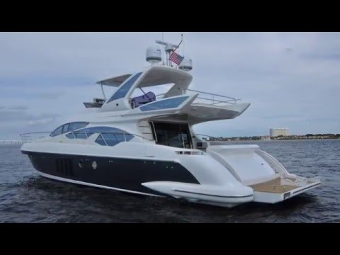 2015 Azimut 64 Flybridge Yacht For Sale at MarineMax Fort Myers ...