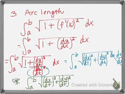 parametric equations and calculus