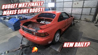 Budget K Swapped Mr2 Makes Some Power!